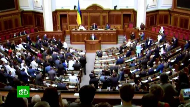 Рада приняла закон об исключительности украинского языка.Украина, законодательство.НТВ.Ru: новости, видео, программы телеканала НТВ