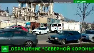 В Петербурге при демонтаже заброшенной гостиницы обрушились конструкции, есть погибший