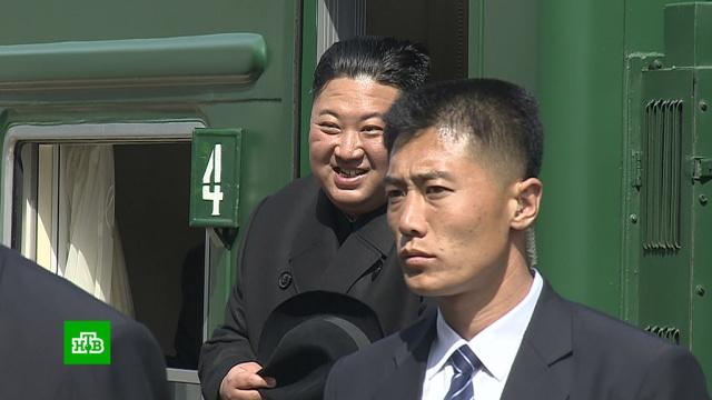 Ким Чен Ын уехал, но обещал вернуться.Владивосток, Ким Чен Ын, Северная Корея.НТВ.Ru: новости, видео, программы телеканала НТВ