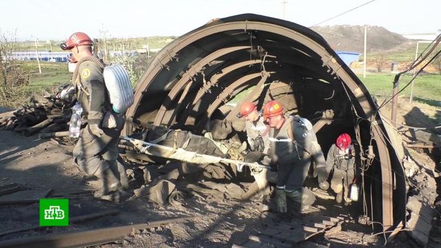 Тело пятого погибшего извлекли из аварийной шахты в ЛНР.ЛНР, Украина, аварии на шахтах, шахты и рудники.НТВ.Ru: новости, видео, программы телеканала НТВ