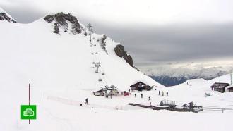 ВСочи впервые за пять лет продлили горнолыжный сезон
