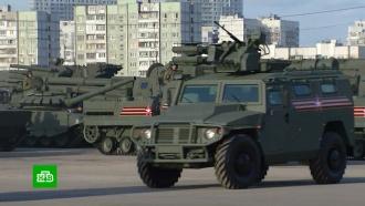 Репетиция парада: новейшая военная техника прошла по улицам Москвы