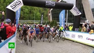 Более 100 человек рискнули испытать себя велогонкой по сочинскому серпантину