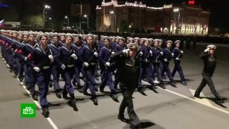 В Ростове-на-Дону прошла первая ночная репетиция парада Победы