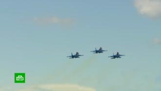 Истребители ибомбардировщики встрою: тренировка авиации перед парадом Победы