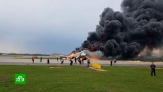 Подробности жесткой посадки горящего <nobr>Superjet-100</nobr>