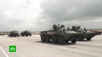 Российские военные в Сирии начали подготовку к параду Победы