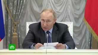 Путин поручил устранить сбои сфинансированием нацпроектов