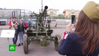Мощная гроза не помешала народным гуляньям в Москве
