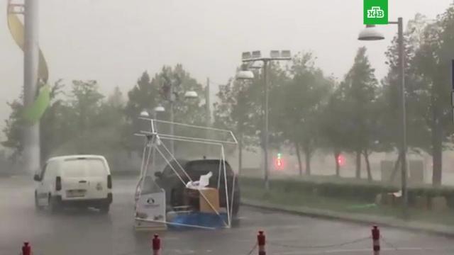 Число пострадавших при урагане вМоскве возросло до 10.Москва, погода.НТВ.Ru: новости, видео, программы телеканала НТВ