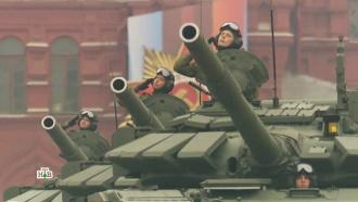 Военная техника на параде вМоскве
