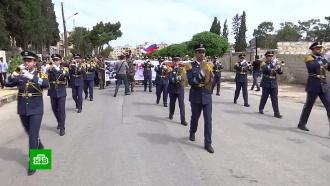 Акция памяти: как проходили марши «Бессмертного полка» вСирии, Греции иСербии