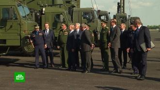 Путину вАхтубинске показали новейшие образцы военной авиатехники