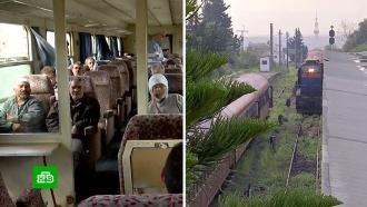 В Сирии восстанавливают железнодорожное сообщение