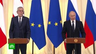 Сочинский диалог: итоги визита президента Австрии в Россию