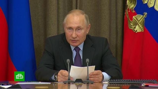 Путин назвал главное оружие «на весьXXI век».Путин, армия и флот РФ, лазер, оружие.НТВ.Ru: новости, видео, программы телеканала НТВ