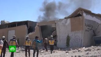 Россия предупредила ООН оготовящейся провокации схиморужием вСирии