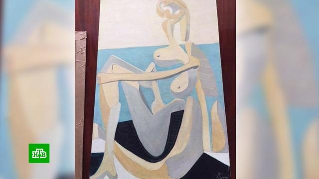 Купленная на гаражной распродаже картина оказалась подлинником Пикассо.Великобритания, Пикассо, живопись и художники, искусство.НТВ.Ru: новости, видео, программы телеканала НТВ