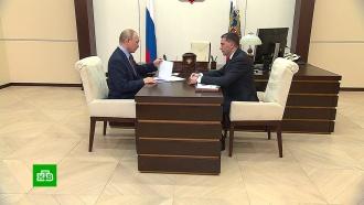 Глава Минприроды рассказал Путину о планах на Волгу и Байкал