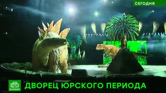 Петербуржцев приглашают на прогулку с динозаврами.Санкт-Петербург, динозавры.НТВ.Ru: новости, видео, программы телеканала НТВ
