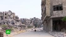 Боевики устраивают ночные обстрелы кварталов сирийского Алеппо
