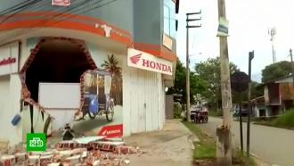 Разрушены здания имост: последствия землетрясения вПеру
