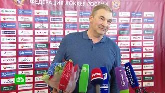 В Шереметьево десятки фанатов встретили российскую сборную по хоккею