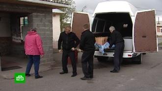 ВКрасноярском крае людей возят вбольницу на катафалках