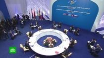 ВНур-Султане стартовал саммит Евразийского экономического союза.ЕврАзЭС/ЕАЭС, Казахстан, Путин, переговоры.НТВ.Ru: новости, видео, программы телеканала НТВ