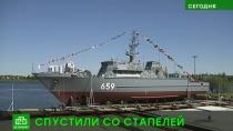 Новейший минный тральщик петербургские корабелы сконструировали из стеклопластика