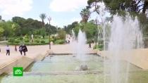 В Сирии начали восстанавливать городские фонтаны