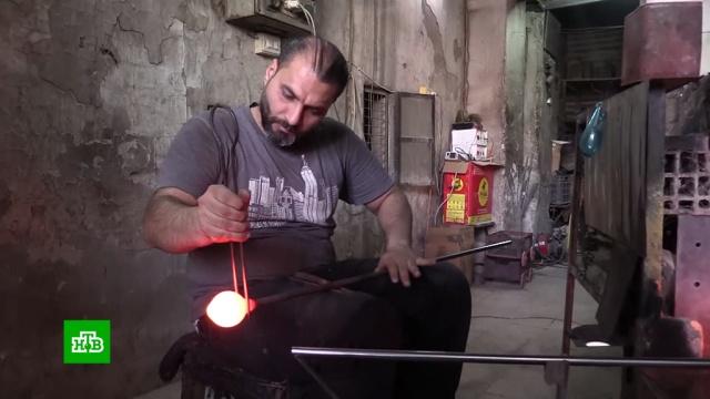 Жители Сирии возрождают старинные ремесла.Сирия, войны и вооруженные конфликты.НТВ.Ru: новости, видео, программы телеканала НТВ