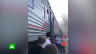 ВАдыгее восстановили движение поездов после ДТП на переезде