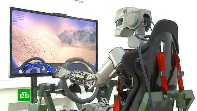 В «Роскосмосе» рассказали правду о миссии робота Фёдора.Роскосмос, космос, наука и открытия, роботы.НТВ.Ru: новости, видео, программы телеканала НТВ