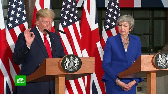 Трамп пообещал Британии грандиозную торговую сделку.Великобритания, Лондон, Тереза Мэй, Трамп Дональд, визиты.НТВ.Ru: новости, видео, программы телеканала НТВ