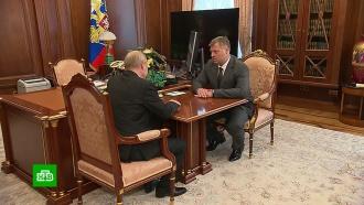 Путин назначил нового врио губернатора Астраханской области