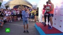 <nobr>ПМЭФ-2019</nobr> открылся забегом по центру Петербурга