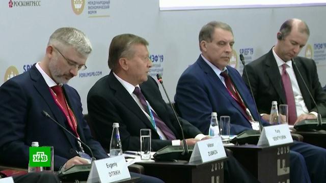 Виктор Зубков на ПМЭФ перечислил минусы электрических автомобилей.Газпром, ПМЭФ, газ, экономика и бизнес, эксклюзив.НТВ.Ru: новости, видео, программы телеканала НТВ