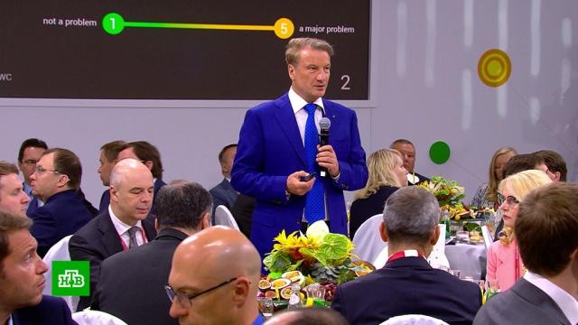«Ни один инвестор на форуме не арестован»: Макаров и Шохин высказались о роли силовиков в экономике.ПМЭФ, Сбербанк, инвестиции, экономика и бизнес.НТВ.Ru: новости, видео, программы телеканала НТВ