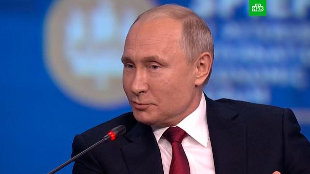 «Он пока себя не проявил»: Путин объяснил, почему не поздравил Зеленского сизбранием.Зеленский, ПМЭФ, Путин, Украина.НТВ.Ru: новости, видео, программы телеканала НТВ
