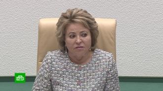 Матвиенко заявила о«головотяпстве» полиции вделе Голунова