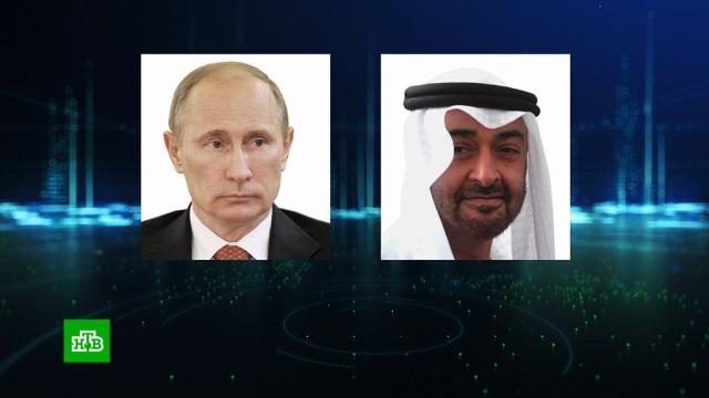Путин обсудил снаследным принцем Абу-Даби сотрудничество России иОАЭ.ОАЭ, Путин.НТВ.Ru: новости, видео, программы телеканала НТВ