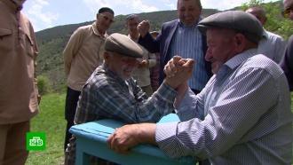 В дагестанском селе устроили соревнования для аксакалов