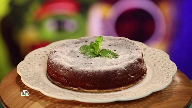 Шоколадный пирог из двух ингредиентов.НТВ.Ru: новости, видео, программы телеканала НТВ