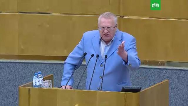 «Мне противно»: Жириновский ушел из Думы в знак протеста.Госдума, Жириновский, ЛДПР, гражданство, законодательство, скандалы.НТВ.Ru: новости, видео, программы телеканала НТВ