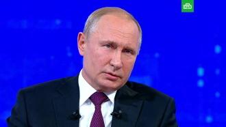 «Полная чушь!»: Путин об обвинениях воккупации Донбасса
