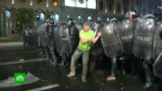Депутат Госдумы: митингами вТбилиси управляли англоговорящие кураторы