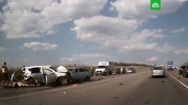 Под Пензой три человека погибли вмассовой аварии.ДТП, Пензенская область.НТВ.Ru: новости, видео, программы телеканала НТВ