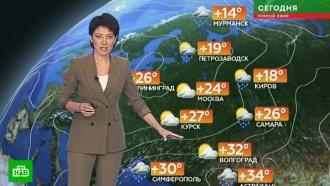 Прогноз погоды на 25 июня