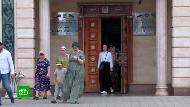 Попросившим Путина опомощи женщинам из Чечни дали новые квартиры.Путин, Чечня, недвижимость, прямая линия.НТВ.Ru: новости, видео, программы телеканала НТВ